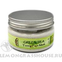 Маска для лица «Зеленый чай»
