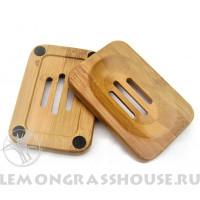 Мыльница бамбуковая