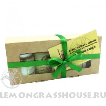 Mini набор Lemongrass House «Для тела / spa-маникюра»