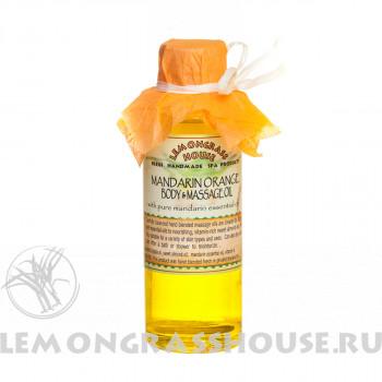Масло для тела и массажа «Оранж»