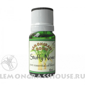 Смесь эфирных масел «Stuffy nose» (От заложенного носа)